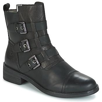 Shoes Women Mid boots Bugatti POMO Grey / Dark