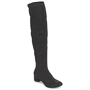 Shoes Women Thigh boots Lollipops ALASTIC HIGHBOOTS Black