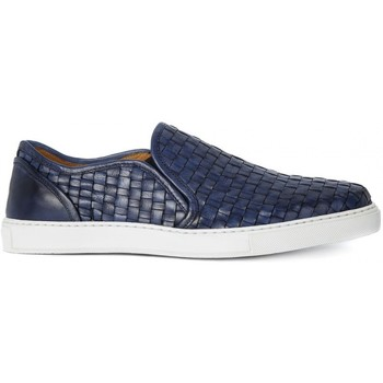 Shoes Men Slip ons Kammi BRECOS CRUST BOTTOLATO AZZURRO Blu