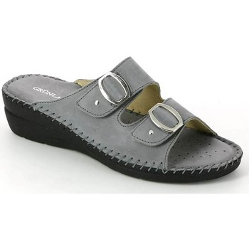 Shoes Women Sandals Grunland CI2108 Sandals Women Grey Grey