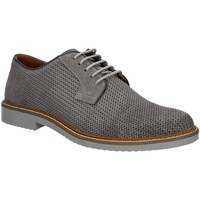 Shoes Men Walking shoes Igi&co 7677 Lace-up heels Man Grey Grey