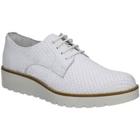 Shoes Women Walking shoes Igi&co 7743 Lace-up heels Women White White