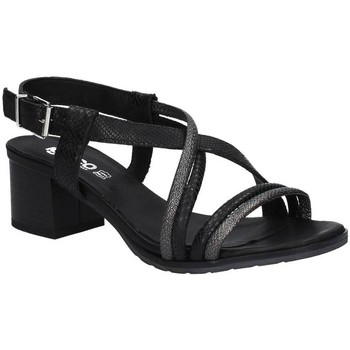 Shoes Women Sandals Igi&co 7839 High heeled sandals Women Black Black