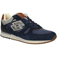 Shoes Men Walking shoes Lotto S8839 Sneakers Man Blue Blue
