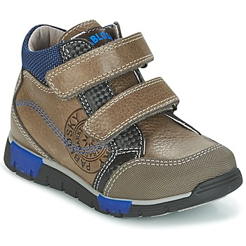 Shoes Boy Hi top trainers Pablosky DENTELY Grey / Blue