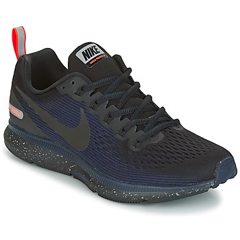 Shoes Women Running shoes Nike AIR ZOOM PEGASUS 34 SHIELD Black / Blue