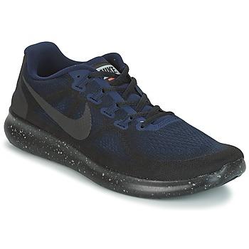 Shoes Men Running shoes Nike FREE RUN 2017 SHIELD Black / Blue