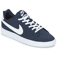 Shoes Boy Low top trainers Nike COURT ROYALE GRADE SCHOOL Blue / White