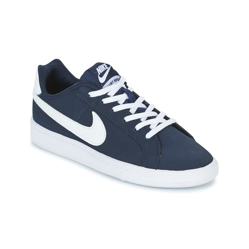 Shoes Children Low top trainers Nike COURT ROYALE GRADE SCHOOL Blue / White