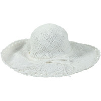 Clothes accessories Hats Seafolly White Hat Woven Ribbon WHITE