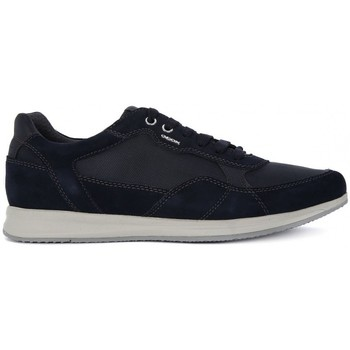Shoes Men Low top trainers Geox AVERY A Blu