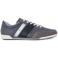 Shoes Men Low top trainers Tommy Hilfiger TOMMY HILFIGHER ROYAL Grigio