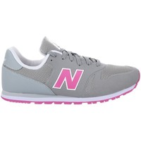 Shoes Children Low top trainers New Balance KD373YPY White-Grey-Pink