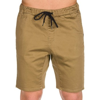Clothing Men Cropped trousers Quiksilver SHORT MARRON