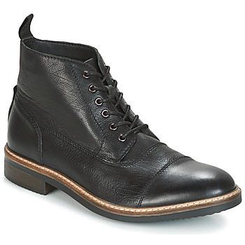Shoes Men Mid boots Clarks BLACKFORD CAP Black