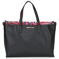 Bags Women Shopping Bags / Baskets Versace Jeans ANTALOS Black / Red / Multicoloured