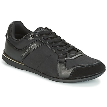 Shoes Men Low top trainers Versace Jeans TERU Black