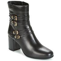 Shoes Women Ankle boots Unisa OPRA Black