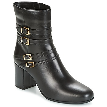 Shoes Women Ankle boots Unisa OPRA Black