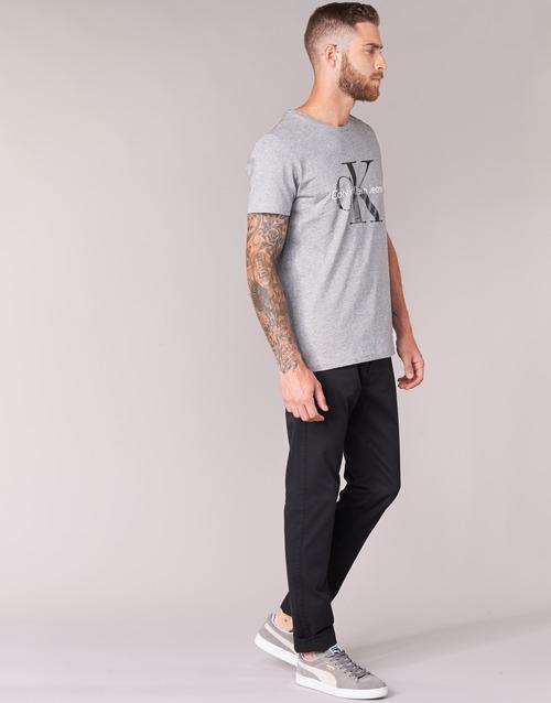 Jeans Klein Re Cn Regular Ss Grey Tee Calvin issue Fit q156q