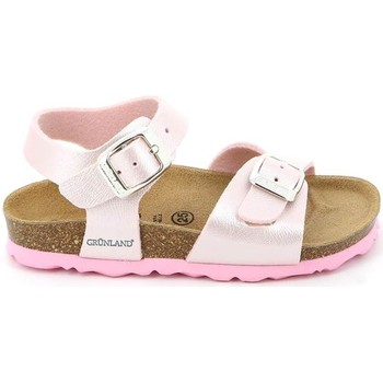Shoes Children Sandals Grunland SB0646 Sandals Kid Pink Pink