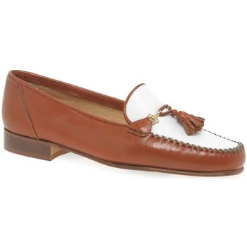 Shoes Women Loafers Charles Clinkard Poppy Womens Moccasins brown