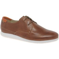 Shoes Men Derby Shoes Pikolinos Fiesta Mens Casual Lightweight Shoes brown
