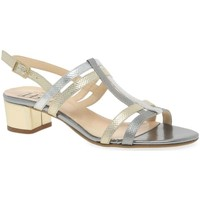 Shoes Women Sandals Hb Parallel Womens Dress Sandals Silver