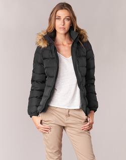 Clothing Women Duffel coats Aigle RIGDOWN SHORT Black