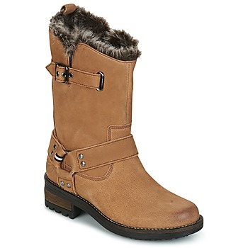 Shoes Women Mid boots Superdry TEMPTER BOOT Sand