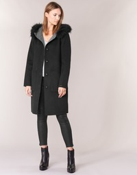 Clothing Women coats Oakwood 62178 Black / Grey