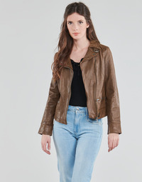Clothing Women Leather jackets / Imitation leather Oakwood 62065 Cognac