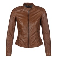Clothing Women Leather jackets / Imitation leather Oakwood 62578 Camel