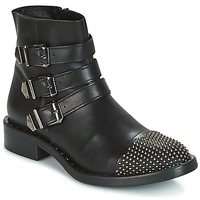 Shoes Women Mid boots Meline PESCINO Black