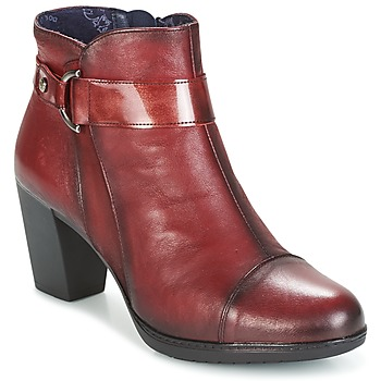 Shoes Women Ankle boots Dorking EVELYNE Red