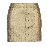 Clothing Women Skirts See U Soon FASOU Gold