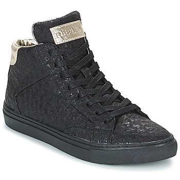 Shoes Women Hi top trainers Replay HALL Black