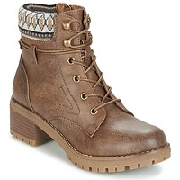 Shoes Women Mid boots Refresh YELLOWSTONE TAUPE