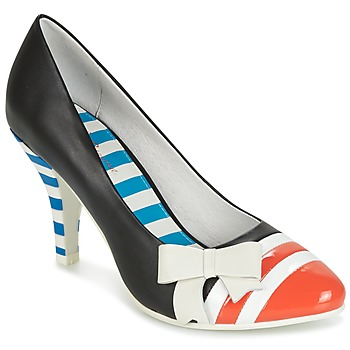 Shoes Women Heels Lola Ramona STILETTO Black / Orange / White