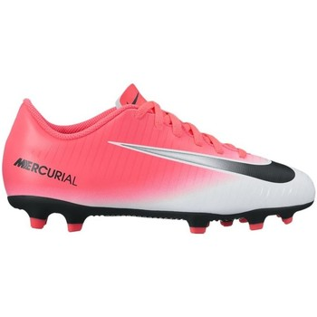 Shoes Children Football shoes Nike Junior Mercurial Vortex Iii FG Pink-White