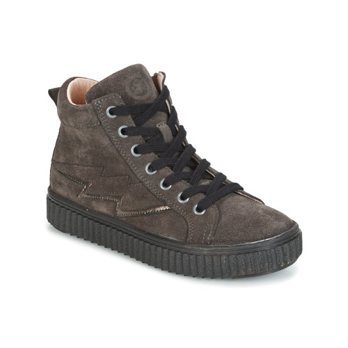 Shoes Girl Hi top trainers Acebo's LONDON Grey