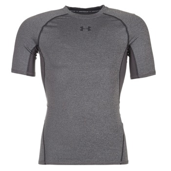 Clothing Men Short-sleeved t-shirts Under Armour ARMOUR HG SS Grey