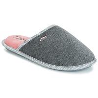 Shoes Women Slippers DIM RAJDA Grey / Dark
