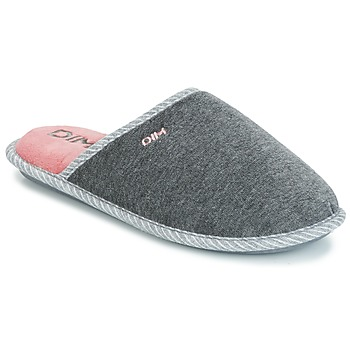Shoes Women Slippers DIM RAJDA Grey / Dark