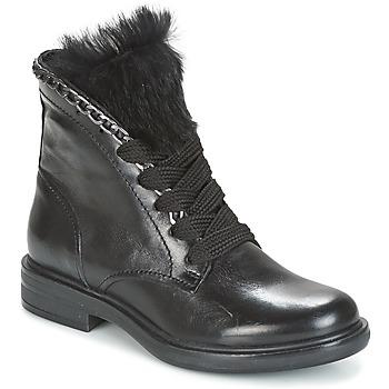 Shoes Women Mid boots Mjus CAFE LACE Black