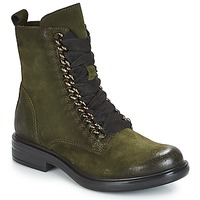 Shoes Women Mid boots Mjus CAFE CHAIN Kaki