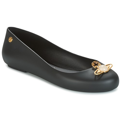 Shoes Women Flat shoes Melissa VW SPACE LOVE 18 Black pearl orb  black
