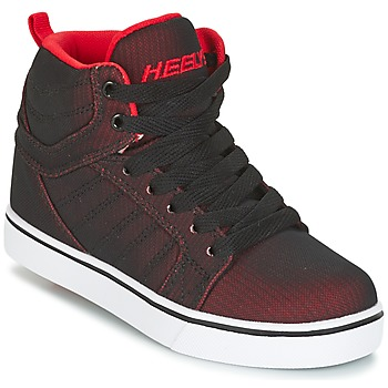 Shoes Boy Wheeled shoes Heelys UPTOWN Black / Red