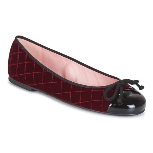 Shoes Women Ankle boots Pretty Ballerinas  Bordeaux