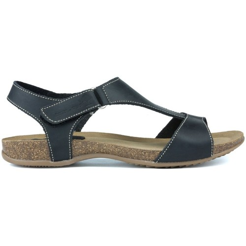 Shoes Women Sandals Interbios INTERMEDIATE ANATOMIC SANDALS 4420 BLACK